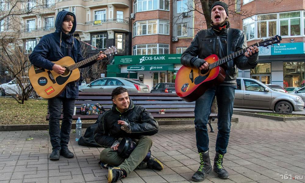 музыканты на улице