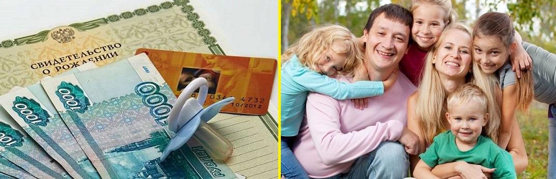 ежемесячные выплаты положены многодетным семьям