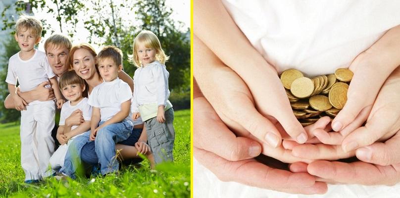 выплаты малоимущим многодетным семьям