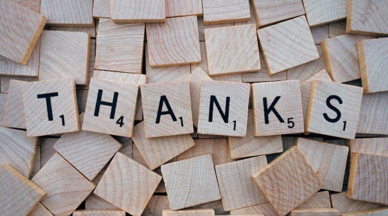 Как благодарить за финансовую помощь от частного лица